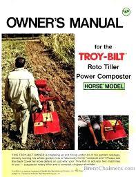 garden way tiller troy tiller parts horse matt garden tractor tiller attachments