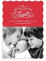 Christmas Card Birth Announcement Olivia Christmas Christmas