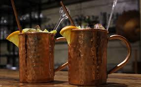 brown moscow mule tail set