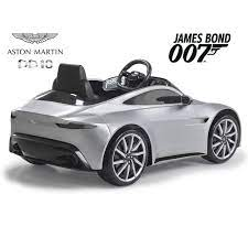 Kids Feber Aston Martin Db10 Electric Battery 6v Ride On Car With Smartphone Controller Silver
