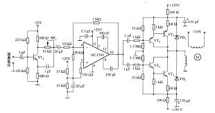ponent motor control circuit schematic small power dc servo motor control circuits automations schematics