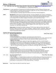General Contractor Resume 10 Northtech Management Brian 39 S Resume.  Professional Construction