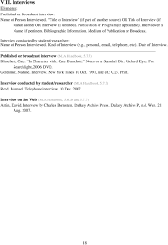 Mla In Text Citation And Works Cited Entries Pdf