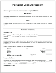 Sample Agreement To Pay Debt Template Debt Agreement Free Payment Plan Personal Loan