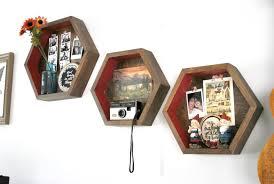 hexagon shelves diy