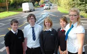 GCSE students from Rednock School in Dursley present case for new  pedestrian crossing | Gazette Series