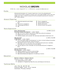 Perfect Resume Template Uxhandy Com