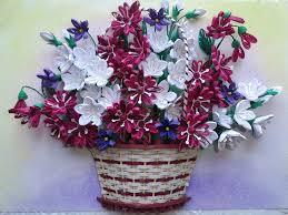 Paper Quilling Flower Baskets Paper Quilling Flower Baskets Rome Fontanacountryinn Com