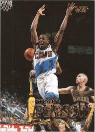 1997-98 Fleer #245 Wesley Person - NM-MT