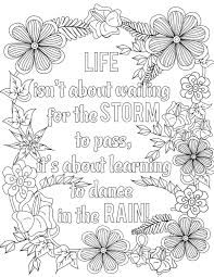 Coloring Book Motivational Quotes Coloring Book Colouring