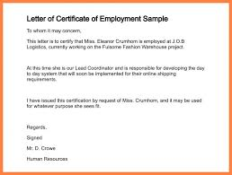 Format For Certificate Of Employment Certificate For Employee Of The Month B Certificate Of Employment