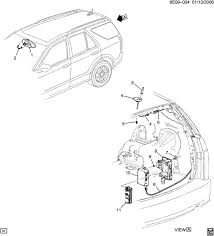 wiring diagram for 2003 cadillac cts wiring wiring diagram cadillac cts onstar module location 2003 gmc envoy parts diagram