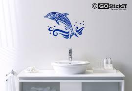 tribal dolphin wall art