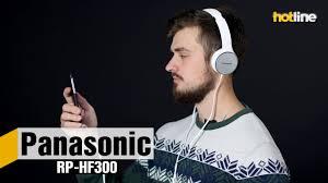 <b>Panasonic RP</b>-HF300 ‒ обзор недорогих накладных <b>наушников</b> ...