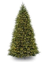 12ft Pre-lit Dunhill Fir Artificial Christmas Tree