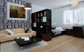 furniture for efficiency apartments. Furniture Modern Efficiency Apartment Interior Decorating Ideas Contemporary Small Design Highlighting Dark Espresso For Apartments