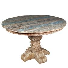 alluring rustic round dining table 19 4438