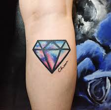 75 Best Diamond Tattoo Designs Meanings Treasure For You 2019