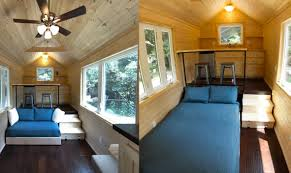 Small Picture Tiny House Lofts Pros and Cons of Multi Level Tiny Living