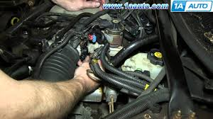 how to install replace tps throttle position sensor l chevy how to install replace tps throttle position sensor 3 4l chevy monte carlo
