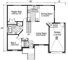 bungalow floor plans. Barrier Free Bungalow - 90204PD Floor Plan Main Level Plans