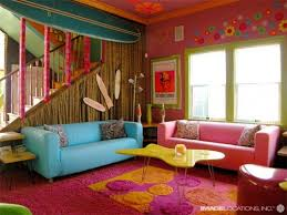 Architecture and Home Design | Colorful Beach House Interior .