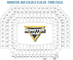 Monster Jam Atlanta Seating Chart 29 Faithful Blank Stadium Map