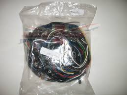 covered wiring harness for mg mga  vinyl covered wiring harness for mg mga 1600 1959 1962