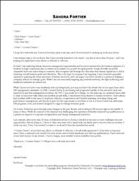 Cover letter sample with no job posting