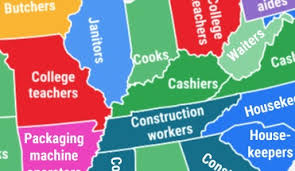 Most Common Job Most Common Jobs Held By Immigrants In Each Us State All