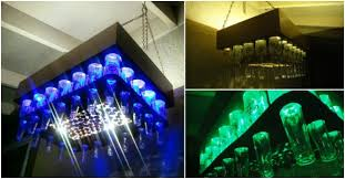 more diy ideas how to make beer bottle led light chandelier