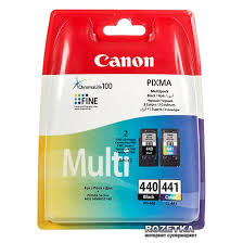Набор картриджей Canon PG-440Bk/CL-441 Multi ... - ROZETKA