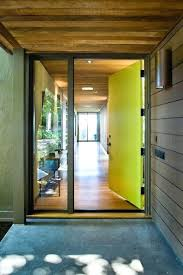 modern glass entry doors neon metal and glass front doors modern steel and glass entry doors