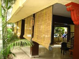 bamboo curtains for your interior decor ideas exterior blinds and shades for balcony for wall