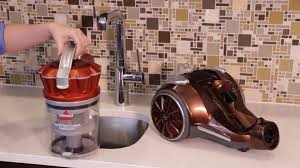 hard floor expert canister vacuum how to clean the filter 1547 bissell