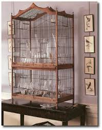 furniture style bird cages. birdcages seen in martha stewart furniture style bird cages