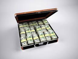 「現金  ブリーフケース」の画像検索結果