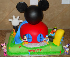 Baby Mickey Mouse Edible Cake Decorations Mickey Mouse 1st Birthday Cake Toppers Cake