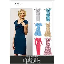 Vogue Dress Patterns New Misses And Misses Petite Dress Vogue Pattern 48 Sew Essential