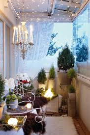 Cheap Home Decor Ideas For Apartments Adorable 48 Amazing Balcony Decor Ideas For Christmas CHRISTMAS DECORATING