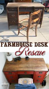 diy furniture refinishing projects. DIY Furniture Refinishing Tips - Farmhouse Desk Rescue Creative Ways To Redo With Paint And Project Techniques Awesome Dressers, Diy Projects F