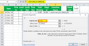Excel Overtime Formula Timesheet In Excel Guide To Create Timesheet Calculator