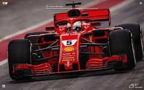 Hd desktop wallpapers | 4k hd » cars » ferrari f1 free images. Inspired Ferrari Scuderia Hd Wallpaper New Tab Extore Space