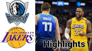 Mavericks vs Lakers HIGHLIGHTS Full Game