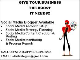 Social Media Manager For Sale In Kingston, Jamaica Kingston St ...