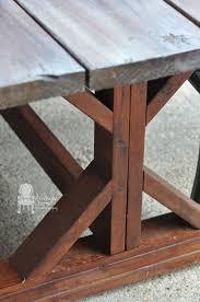 diy outdoor farmhouse table. DIY Outdoor Farmhouse Table Diy L