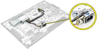 dell optiplex 3240 all in one owner s manual figure displaying the removal of socket