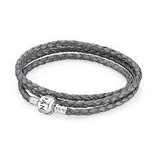pandora grey triple braided leather bracelet pandora charms disney pandora rings where can i