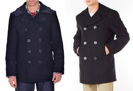 double ted pea coat made in the usa