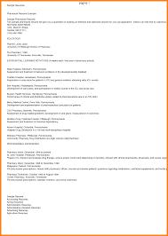 Pharmacist Resume Objective Example Professional Writers Writer
